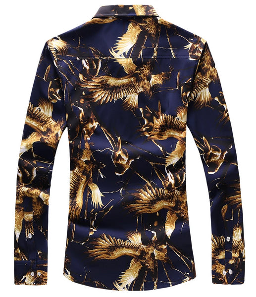 Phoenix Rising Slim Fit Long Sleeve Shirt
