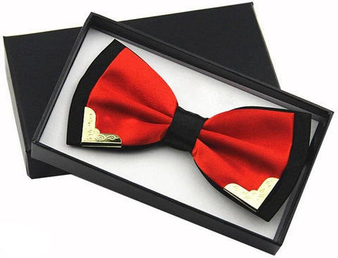Fire Butterfly Bow Tie