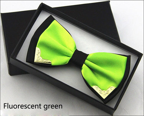 Prime Lime Butterfly Bow Tie