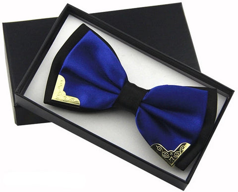 Admirals Favorite Luxury Silk Butterfly Bow Tie