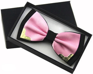 Blush Butterfly Bow Tie