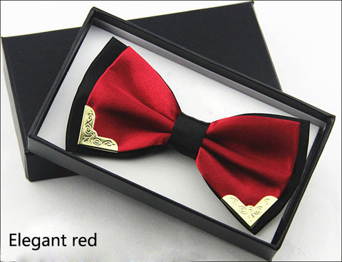Captain Morgans Luxury Silk Butterfly Bow Tie