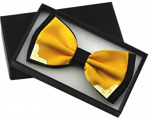Butterscotch Butterfly Bow Tie