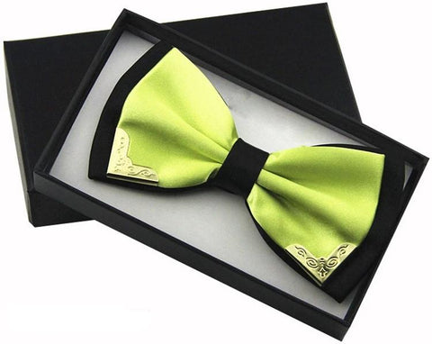 Luck Of The Irish Butterfly Bow Tie