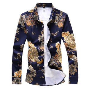 Peacocks Playground Slim Fit Long Sleeve Shirt
