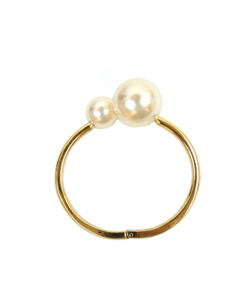 Two Ball Hinge Bracelet