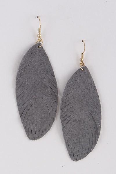 Tribal Feather Vibe Earrings