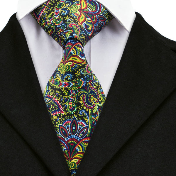 Night Garden Neck Tie Set