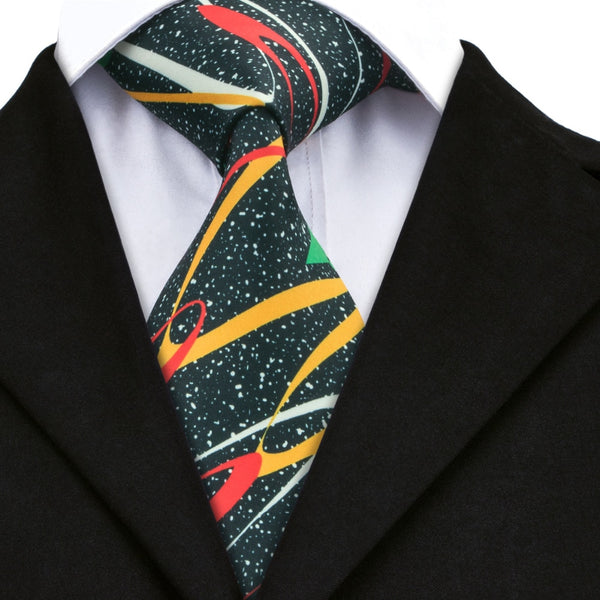 Cosmic Colors Neck Tie Set
