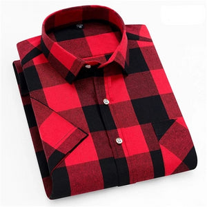 Lumber Jack Short Sleeve Casual Shirt