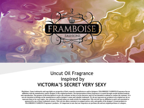 Uncut Oil  Fragrance Inspired By~VICTORIA'S SECRET VERY SEXY