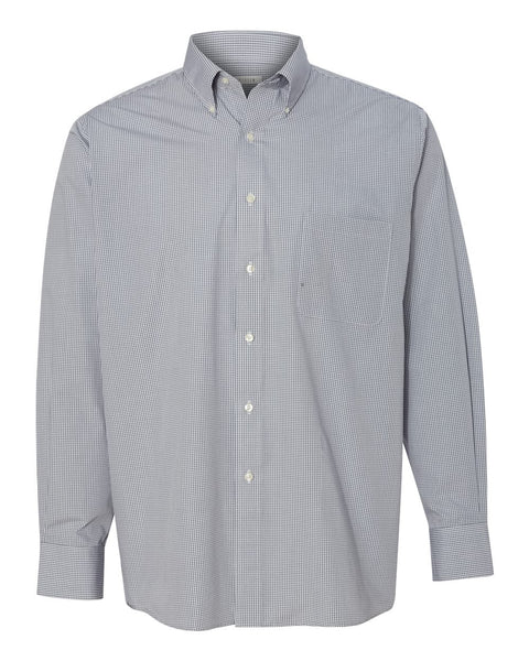 Van Heusen-Wrinkle-Free Gingham Check Shirt