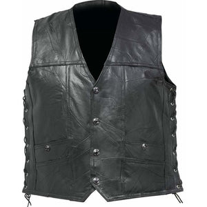 Genuine Buffalo Leather Concealed Carry Vest