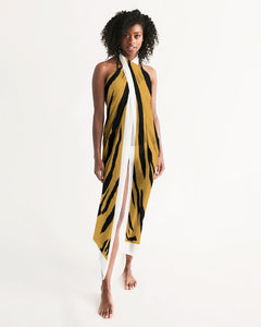African With Trim Swim Cover Up