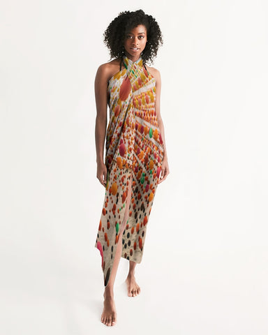 Let us add a little Adventure to your wardrobe with our multi-colored dress wrap. Here's to feeling chic, sexy, and covered for all occasions.    Whether you're hosting a meeting online, going out for a meal at your favorite restaurant, hitting the beach/pool, or want to look sexy lounging at home, our Adventure is a must-have.   Its lightweight and flowy feel is the perfect accessory for your attire; you can style in multiple ways. Add a skirt, mini dress, or leggings to accentuate your outfit.