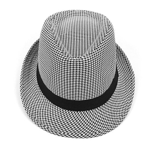 Hounds Tooth Fedora