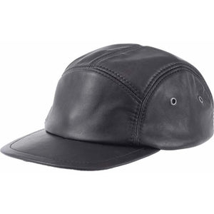 Genuine Leather Baseball Cap