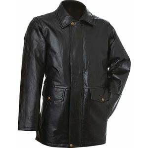 Italian Stone Design Genuine Leather Jacket