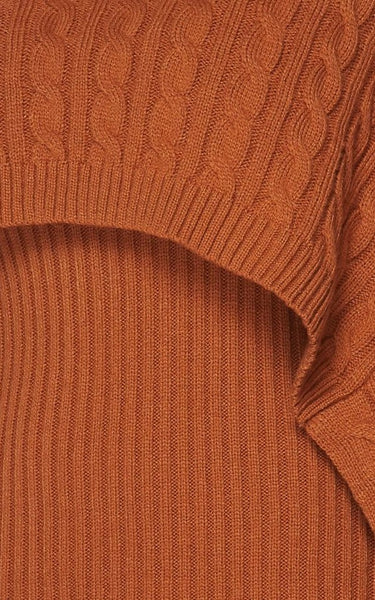 Coppertone Sweater Dress Set