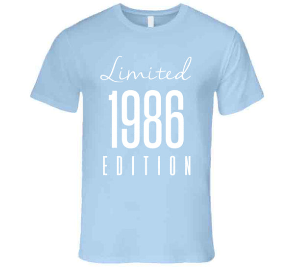 Limited Edition 1986 T Shirt