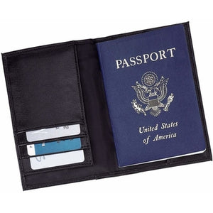 Solid Genuine Leather Passport Cover