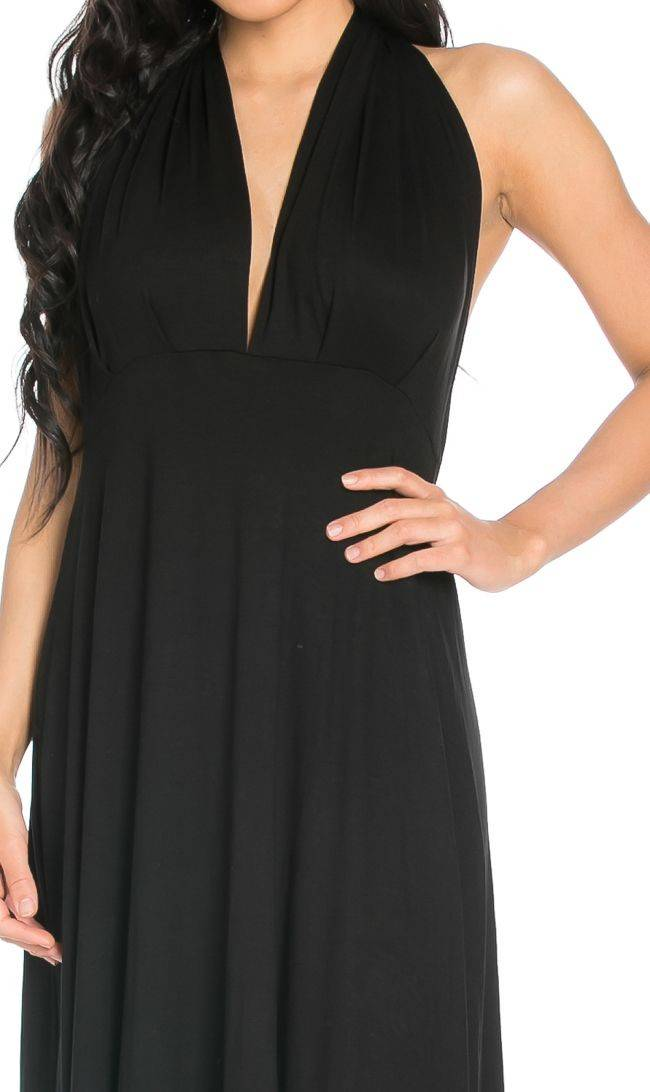 Black-A Lil Of This and That Maxi Dress