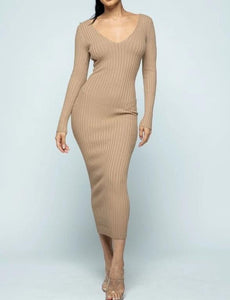 Tawny Maxi Sweater Dress