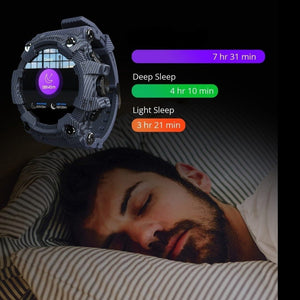 Attack Waterproof Smartwatch Fitness Tracker Sleep Monitor
