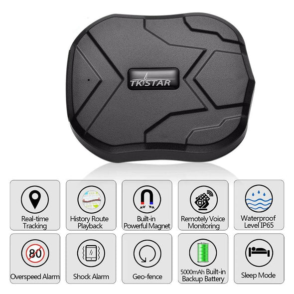 TK905 Car GPS Tracker With Audio Monitoring And Magnetic Back