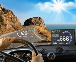 Car Heads Up Display With Fault Code Reader, Heads Up Display Car HUD With ODB2 Fault Code Reader - Dgitrends