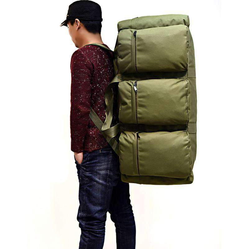 Military Backpack  2 In 1 Combo Duffel Bag, oversized backpack duffel bag backpack waterproof military backpack - Dgitrends