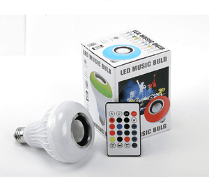 Bluetooth Speaker Bulb, Multi Color Light Bulb With Bluetooth Speaker - Dgitrends Watches Gadgets & Accessories