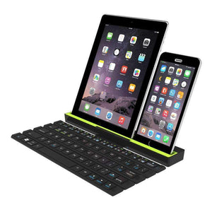 Multi Device Folding Bluetooth Keyboard, Keyboard - Dgitrends Watches Gadgets & Accessories