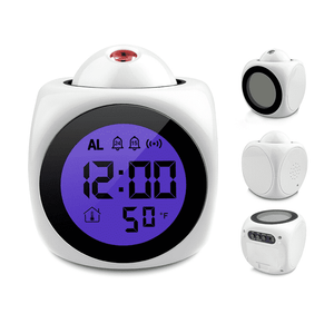 Projection Alarm Clock Plus Audible Alerts - Dgitrends