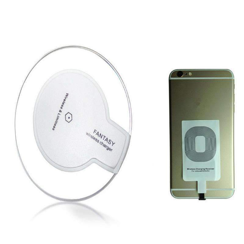Universal Rapid Charge QI Charger & Receiver, Wireless Charger - Dgitrends