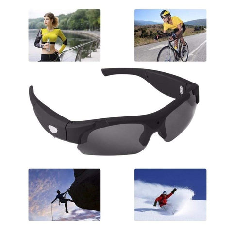 HD Video Camera Glasses With Polarized Lenses