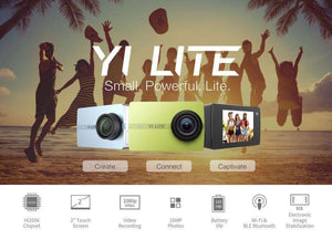 YI Lite Action Camera 16MP Real 4K Sports Camera, Action Camera > 4k Camera > Sports Camera > Wide Angle Action Cam - Dgitrends