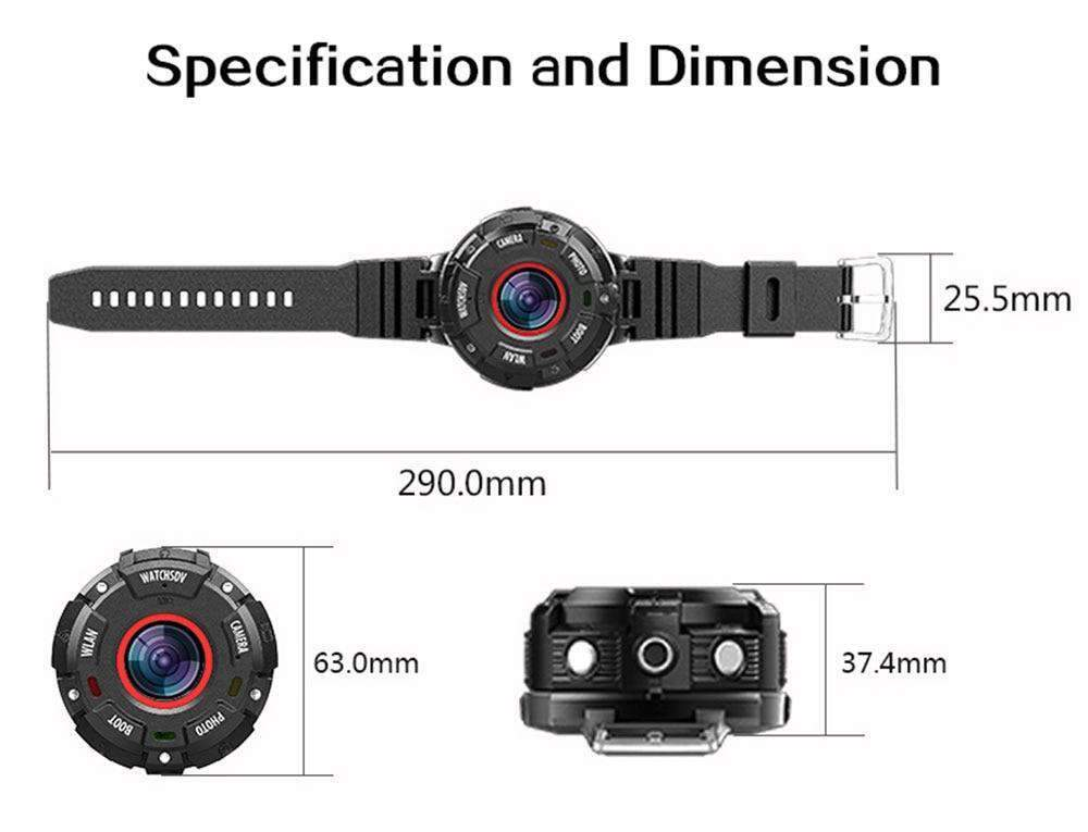 Body Camera Action Cam Watch, Action Camera - Dgitrends