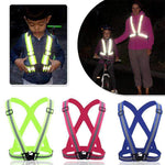 High Visibility Safety Vest, Adjustable Safety Vest > High Visibility Vest > Reflective Safety Vest - Dgitrends