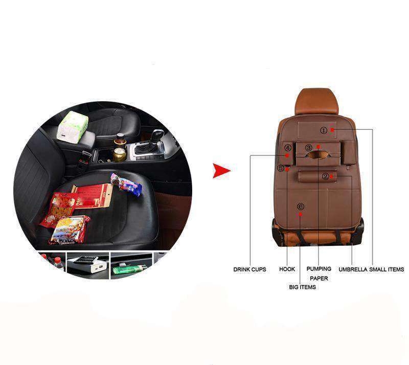Back Seat Caddy Car Organizer - Dgitrends