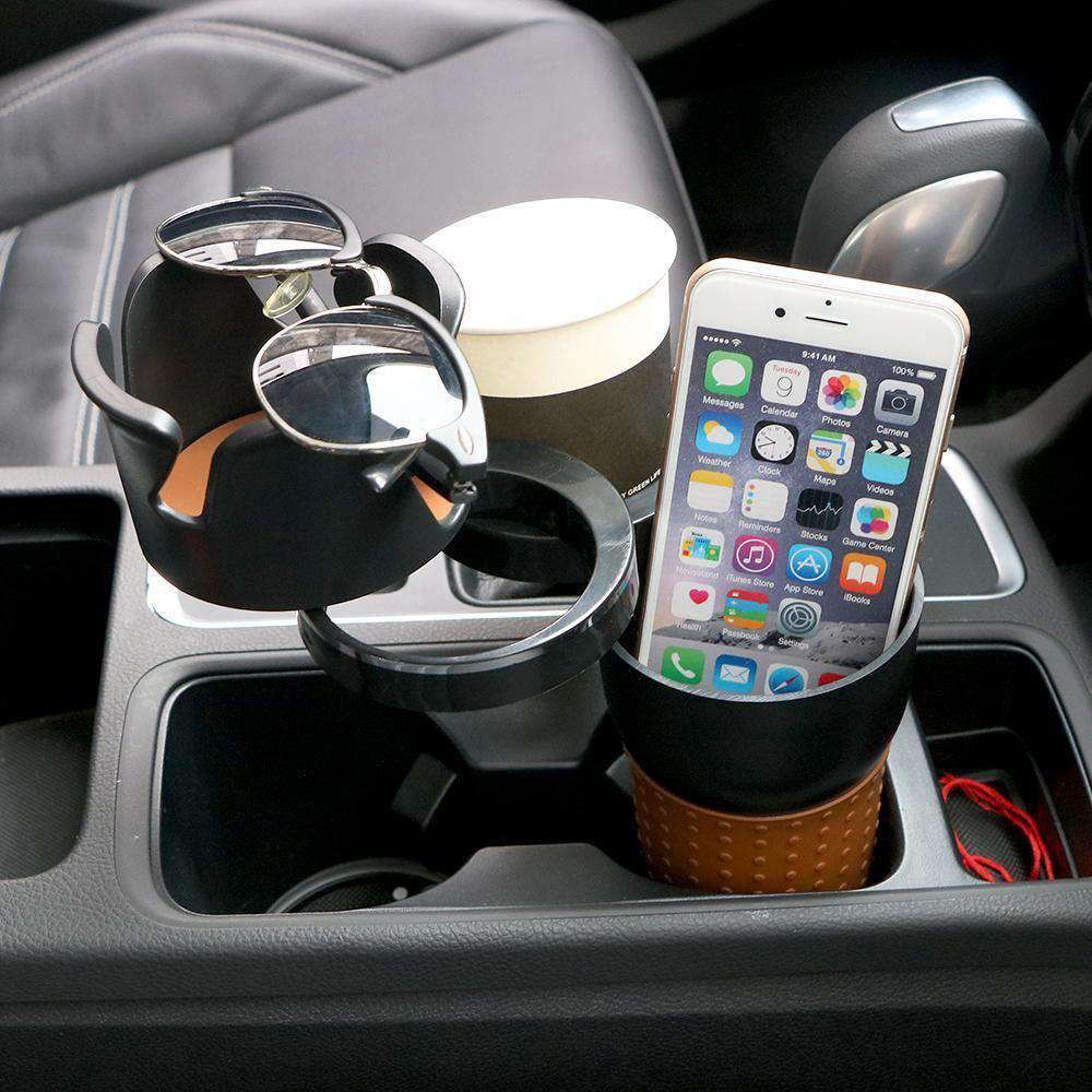 Stackable Car Cup Holder Organizer, Auto Accessory > Car Cup Organizer > Universal Auto Cup Holder Organizer - Dgitrends