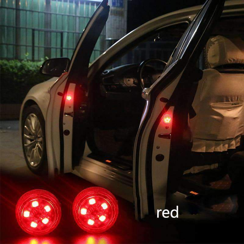 Magnetic Wireless LED Collision Safety Lamps, Car LED Door Marker Lights - Dgitrends