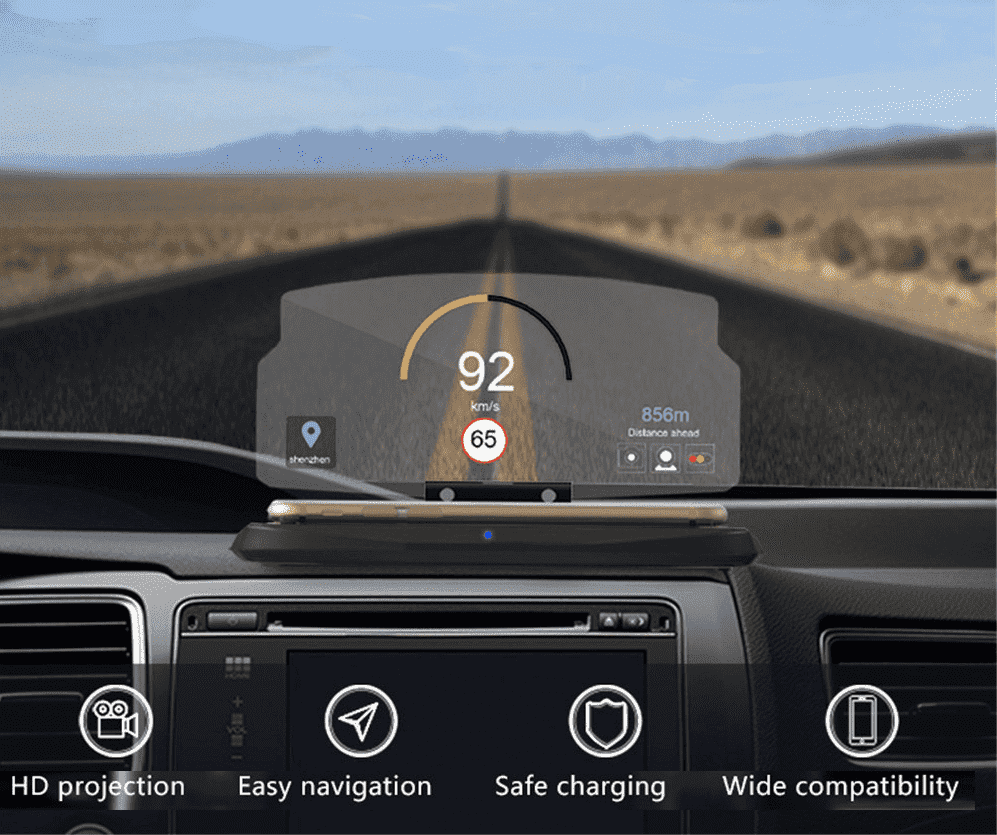 Universal Heads Up Display HUD - Dgitrends
