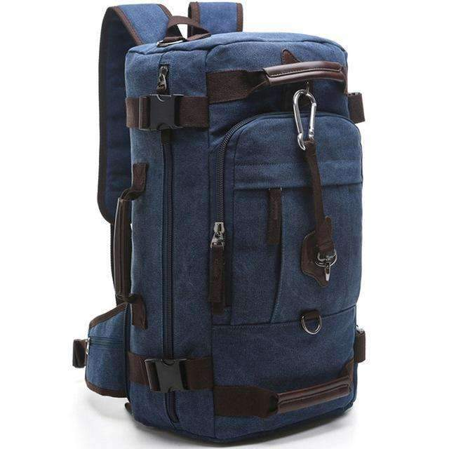 Canvas Rucksack Duffel Backpack, Backpack > Canvas Backpack > Rucksack Backpack - Dgitrends