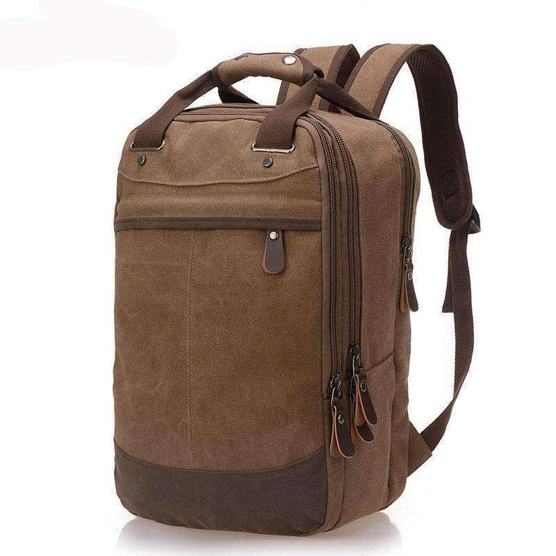 Classic Easy Carry Canvas Backpack, Backpack > Multi Use Backpack > Canvas Backpack >Dual Carry Backpack - Dgitrends