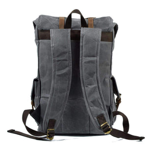 Waterproof Canvas Backpack, Backpack > Travel Backpack Vintage Backpack > Canvas Backpack > Travel Backpack > Laptop Backpack - Dgitrends