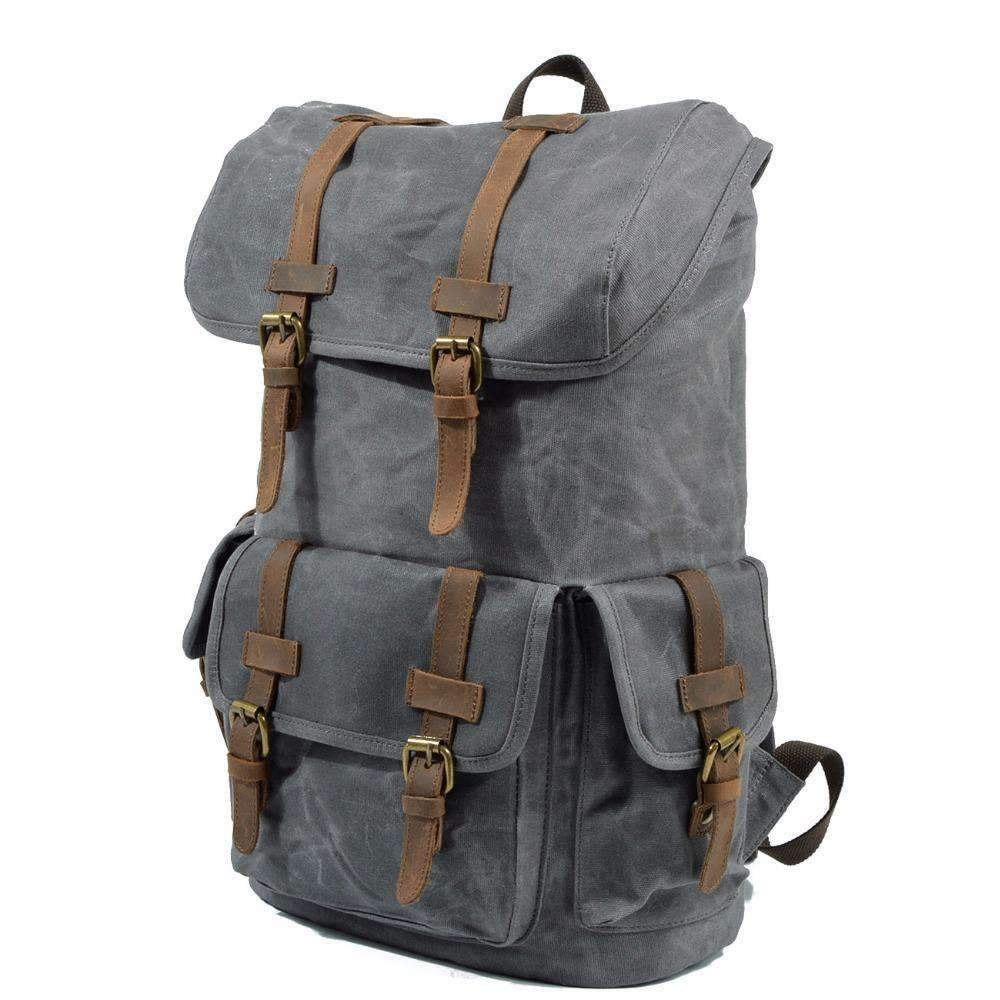 Waterproof Canvas Backpack, Backpack > Travel Backpack Vintage Backpack > Canvas Backpack > Travel Backpack > Laptop Backpack - Dgitrends Watches Gadgets & Accessories