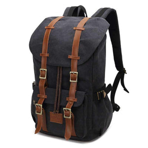Vintage Canvas Rucksack Laptop Backpack, Backpack > Travel Backpack Vintage Backpack > Canvas Backpack > Travel Backpack > Laptop Backpack > Rucksack Backpack - Dgitrends