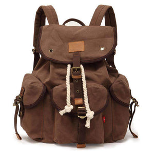 Vintage Rucksack Travel Backpack, Backpack > Travel Backpack Vintage Backpack > Canvas Backpack > Travel Backpack > Rucksack Backpack - Dgitrends