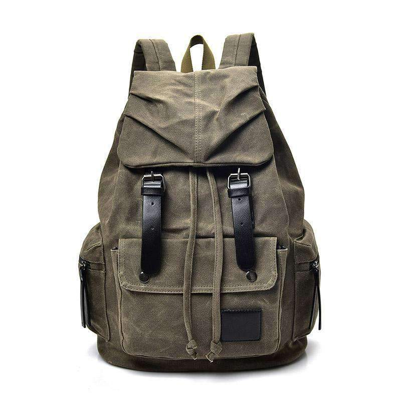 Vintage Canvas Backpack, Backpack > Travel Backpack Vintage Backpack > Canvas Backpack > Travel Backpack - Dgitrends Watches Gadgets & Accessories